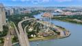 船 桥 城市风光 39517929