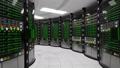 Modern working server room 39876393