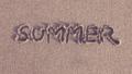 ビーチにSummerの文字 39997943