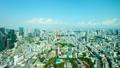 東京 東京タワー 都会の動画 40037236