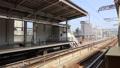 博多駅から新幹線発車(キャノンフルサイズ一眼5DSRで撮影) 40092053