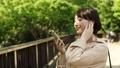 女性 スマホ スマートフォンの動画 40134886