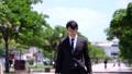 Business man commuter upper body 40143568