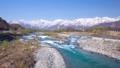 白馬村の春の風景 40174202