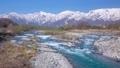 白馬村の春の風景 40250691
