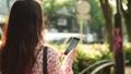 女性 スマホ スマートフォンの動画 40296436