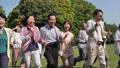 シニア 大人数 笑顔の動画 40319088