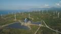 風力タービン 風車 ソーラーの動画 40328822