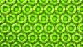 Green swim rings on green background 40355121
