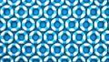 Blue swim rings on blue background 40432314