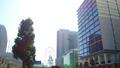 横浜 桜木町駅前の都市風景 移動撮影 40463725