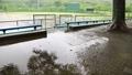 雨の日 野球場 40485861