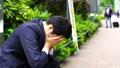 商人,抱头,焦虑,失败,麻烦,放大 40502605