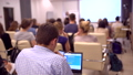 Business People Seminar Conference Meeting Office Training, business. Ьan in blue shirt using 40515944