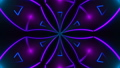 Beautiful abstract symmetry kaleidoscope with shiny neon lines, 3d render backdrop, computer 40582971