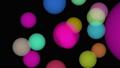 カラフルな丸ボケのCGアニメーション 40662160