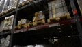 Camera travels inside a large warehouse 40729294