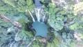 Beautiful aerial shot of Marmore Waterfalls Italy 40760807