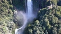 Close up aerial Shot of amazing water falls 40760808
