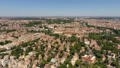 Aerial 360 panoramic shot of Rome and colosseum 40760812