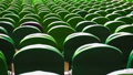 Rows of seats in a football stadium. 40774004