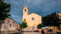 L'Armentera, Girona, Spain. Time Lapse, Timelapse, Time-lapse Of The Church Of Our Lady Of Armentera 40775741