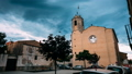 L'Armentera, Girona, Spain. Time Lapse, Timelapse, Time-lapse Of The Church Of Our Lady Of Armentera 40776309