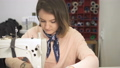 ソーイング 裁縫 女性の動画 40783601