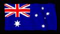ธงชาติออสเตรเลีย Yogi CG (Loop Alpha) 40790795