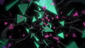 잡음이 들어갈 삼각형의 추상 (반복 가능) - 세로 회전 / 칼라 B 40808779