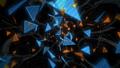 잡음이 들어갈 삼각형의 추상 (반복 가능) - 세로 회전 / 칼라 D 40808781