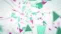 잡음이 들어갈 삼각형의 추상 (반복 가능) - 가로 회전 / 색상 A 40808784