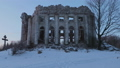 Ruins Church of the Holy Trinity in the village of Pyataya Gora, Volosovsky district, Leningrad 40822518