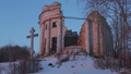 Ruins Church of the Holy Trinity in the village of Pyataya Gora, Volosovsky district, Leningrad 40822524
