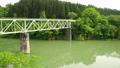 新緑の只見線第二橋梁 40834592