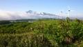 新緑のにかほ高原の風車と鳥海山 40857143