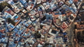 Aerial view of blue old city Chefchaouen, Morocco 40880481