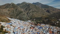 Aerial view of blue old city Chefchaouen, Morocco 40880482