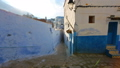 Panorama of blue street in Medina of Chefchaouen 40880489