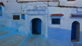 Panorama of blue street in Medina of Chefchaouen 40880490