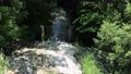 大滝河川遊歩道の小さな滝(鬼怒川温泉・大滝河川遊歩道) 40881956