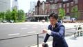 慢动作运行商人·东京站·万向节移动射击 40931682