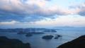 しまなみ海道 亀老山展望公園から見た来島海峡大橋 40957801