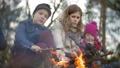 family, tourists, camp 40976719