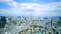 東京 東京タワー 街並の動画 41018397