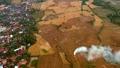 Aerial rural landscape view 41020503