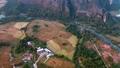 Aerial rural landscape view 41020506