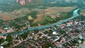 Aerial rural landscape view 41020509
