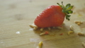 Worms Crawling over Strawberries 41042137