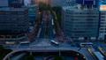 東京 都会 光跡の動画 41099422